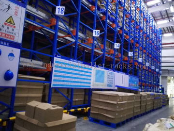 Semi Autometic Heavy Duty Radio Shuttle Racking System for Industrial Storage Management